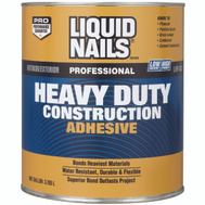 Liquid Nails LN-903G Adhesive Heavy Duty Voc Gallon