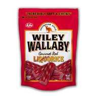 Continental Concession KEC121110 Licorice Red Stand Up Bag 10 Ounce