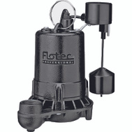 Pentair E50VLT Flotec Sump Pump Cast Iron 1/2Hp