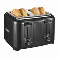 Proctor Silex 24215 Cool Touch 4 Slice Toaster Black