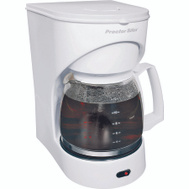 Proctor Silex 43501Y Auto Pause And Serve 12 Cup White Coffeemaker