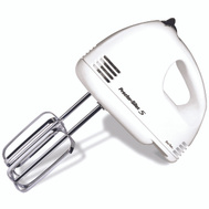 Proctor Silex 62515RY 5-Speed Easy Mix Hand Mixer White