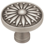 Brainerd PBF810Y-BSP-CP Grecian Cabinet Knob Brushed Satin Pewter