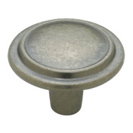Brainerd P40052C-AI-C 1-1/4 Inch Top Ring Round Cabinet Knob Antique Iron Pack Of 1