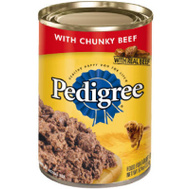 Pedigree 10141839 22 Ounce Ground Beef Food
