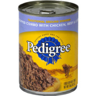 Pedigree 10148429 13.2 Ounce Chicken Beef Dog Food