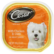 Cesar 10179849 Chicken And Liver Canine Cuisine