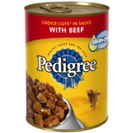 Pedigree 10141821 Ped 13 2 Ounce Beef Dog Food