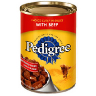 Pedigree K0153000 22 Ounce Beef Dog Food