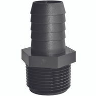 Green Leaf A 1438 P Adapter Poly 1/4 Mptx3/8 Barb