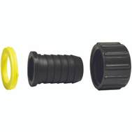 Green Leaf B 3412 W P Fitting Hose 3 Piece Barb 1/2 Inch