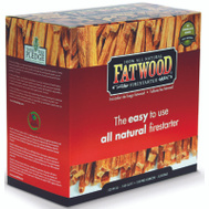 Wood Products 9987 Fatwood Firestarter Color Box 5 Pound