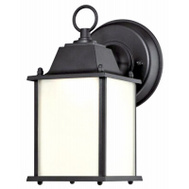 Westinghouse 61075 Fixt Wall Mount Exter Led Blk