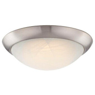 Westinghouse 63088 Fixture Ceil Flush Led Bn 11In