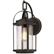 Westinghouse 63393 Fixt Wall Orb W/Highlights 1Lt