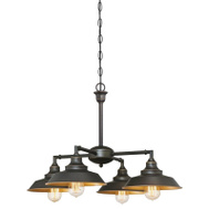Westinghouse 63450 Chandelier Semi-Flush Orb 4Lt