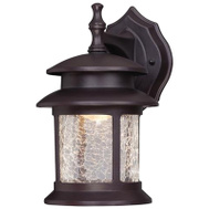 Westinghouse 64003 9W BRZ LED Wall Lantern