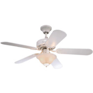 Westinghouse 78772-6548 42 Inch White Richboro Ceilfan