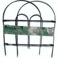 Glamos Wire 778009 18 By 10 Inch Folding Wire Fence Green