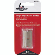 Accutec Blades 66-0210 American Line Razor Blade Dispenser Single Edge 10 Pack