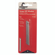 Accutec Blades 66-0378 Utility Knife Blades Breakaway Heavy Duty Pack Of 5