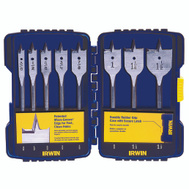 Irwin 341008 Speedbor 8 Piece Pro Spade Drill Bit Set 3/8 To 1-1/2 Inch