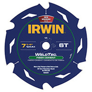 Irwin 4935201 Weld Tech Saw Blade Fiber 7-1/4In 6T