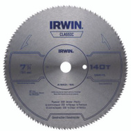 Irwin 11440 7-1/4 Inch 150 Tooth Carbide Steel Blade