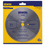 Irwin 11840 7-1/4 Inch 140 Tooth Plywood Saw Blade