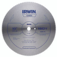 Irwin 11870 10 Inch 180 Tooth Plywood Blade