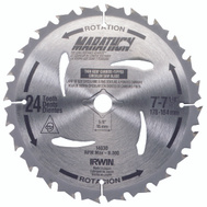 Irwin 14030 Marathon 7-1/4 Inch 24 Tooth Framing Ripping Circular Saw Blade
