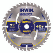 Irwin 14031 Marathon 7-1/4 Inch 40 Tooth Trim Finish Circular Saw Blade
