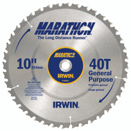 Irwin 14070 Marathon 10 Inch General Purpose Carbide Saw Blade
