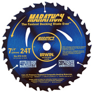 Irwin 14130 7-1/4 Inch 24 Tooth Universal Circular Blade Display