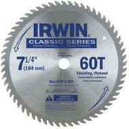 Irwin 15530 Sprint 7-1/4 Inch 60 Tooth Circular Blade