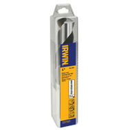 Irwin 91164 Silver and Deming 1 By 6 Inch 1/2 Inch Shank High Speed Metal Bit