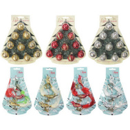 Christmas By Krebs TV310024A Mini Glass Ornament