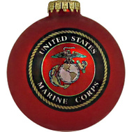 Christmas By Krebs TV63258 US Marines Ornament