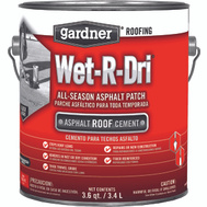Gardner Gibson 0371-GA Wet R Dri All Weather Roof Cement 1 Gallon