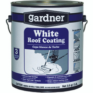 Gardner Gibson 7001-GA Gallon White Elastomeric Roof Coating