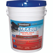 Gardner Gibson SK-7705 Sta Kool 5 Gallon 7 Year White Roof Coating