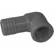 Lasco Fittings 354117 1 By 3/4 Inch Poly Insert Combo Reducing Elbow Insert X FIP