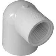 Lasco Fittings 34117 1 By 3/4 Inch PVC 90 Degree Reducing Female Elbow Slip X FIP