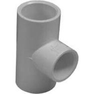 Lasco Fittings 31471 3/4 By 3/4 By 1/2 Inch PVC Reducing Tee Slip