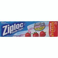 SC Johnson 00350 Ziploc 20 Ct Gal Bag