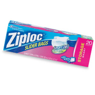 Ziploc 02150 20CT QT Slider Stor Bag