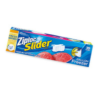 Ziploc 02313 10CT GAL Slid Freez Bag