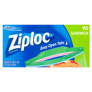 SC Johnson 71147 Ziploc 100 Sandwich Bags