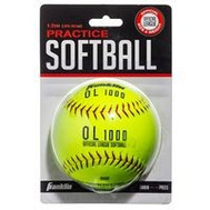 Franklin Sports 10981 Softball Synthc Cork B-Pk 12In