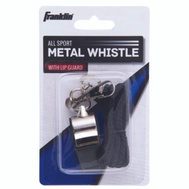 Franklin Sports 1711 Whistle Metal W/Lanyard